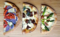 Breadmaker pizza crust