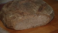 Whole Wheat Sourdough Miche