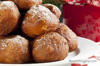 Sourdough Oliebollen (Dutch New Year's Doughnuts)