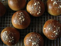 Whole Wheat Burger Buns