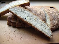 Yeasted Garlic Zucchini Bread