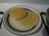 Sourdough English Crumpets