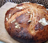 Manchego Cheese Sourdough Bread