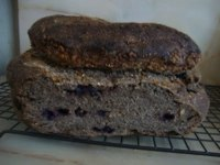 Buckwheat Sourdough With Wild Blueberries