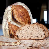 SD Bread With Rolled Oats An Cold Fermentation