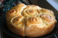 Rose Shaped Bread