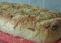 Rosemary Parmesan Milk Bread