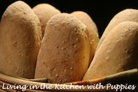 Semolina Rolls With Whole Grain Soaker