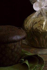 Sourdough Cocoa Panettone With Dark Chocolate