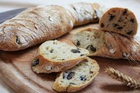 Olive Bread - Paillasse Style