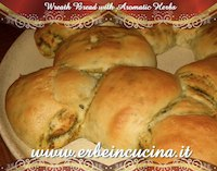 Wreath Bread With Aromatic Herbs