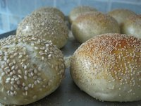Spicy Minced Chicken Buns