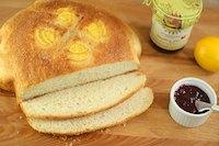 Meyer Lemon Peasant Boule