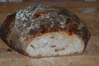 Bacon Semolina Potato Sourdough W/cheese
