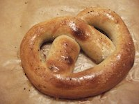 Sourdough Pretzels