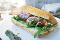 Sausage Saltimbocca