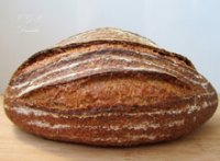 Bread With Quinoa Flakes And Cold Fermentation