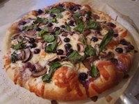 Morphed Pizza Dough