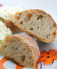 Bread With Pre-ferment Dough