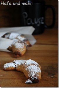 Almond Honey Crescents