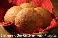 Buttermilk-Rye Sandwich Rolls