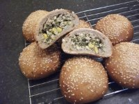 Stuffed Chicken Buns