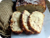 Yeasted Chocolate Banana Bread