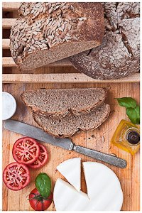 Whole-Spelt Sourdough Bread