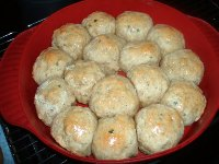 Onion Chive Biscuits