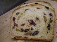 Old-fashioned Raisin Bread