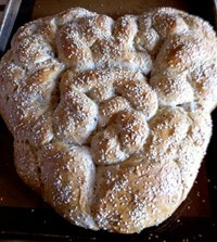Sourdough Oatmeal And Whole Wheat Bread With Seeds