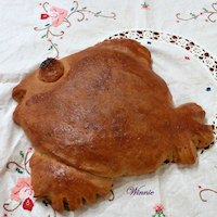 Fish-shape Challah,
