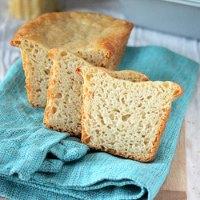 Glutenfree White Oat Bread. Vegan