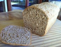 Whole Wheat And Sprouted Grain Bread