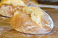 Rustic Wheat Rolls