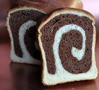 Chocolate Spiral Bread