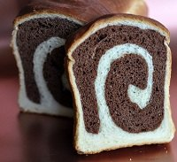 Chocolate Spiral Bread
