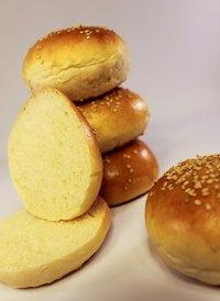 Buns For Hamburgers Or Sliders