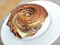 Chocolate Swirl Brioche Buns