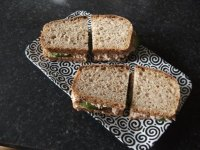 Sourdough Oaty Sandwich Bread