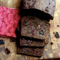 Black Forest Chocolate Chunk Cherry Bread