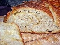 Folded Cheese Sourdough Bread
