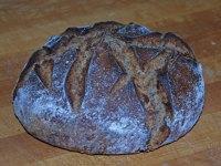 Two-Fifths Sourdough Rye Beer Bread