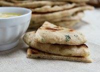 Lemon And Parsley Wheat Flatbread
