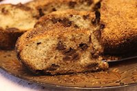 No Knead Coconut-Chocolate Bread