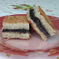 Poppy-Seed Yeast-shortbread Squares
