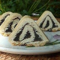 Triangular Yeast-Shortbread Rouldade