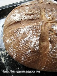 Kefir Wild Yeast ~ Nutmeg Rye Bread