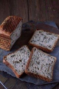 30% Rye Sourdough Cream Loaf With Arugula