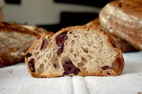 Kalamata & Lemon Sourdough Bread